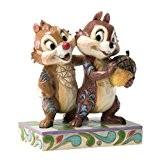 Disney Traditions 4031475 Figurine Tic et Tac Résine 12 cm