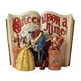 Disney Traditions 4031483 Figurine Il Était une Fois la Belle et la Bête Résine 18 cm