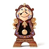 Disney Traditions 4049621 Figurine Keeping Watch/Cogsworth Figurine Multicolore 11 cm