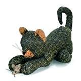 Dora designs - Cale porte - Cale porte Tibby, cat and mouse by Dora Designs
