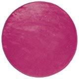 Douceur d'Intérieur - Tapis Velour Louna - Rose - 90 cm