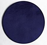 Enjoy Home TBM060 Tapis Rond Bleu Marine Diamètre 60 cm