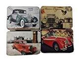 Ensemble de 24 voitures classique vintage Aimant Set Accueil Ornements