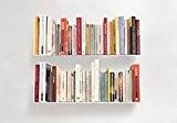 """Étagère pour livre """"U"""" TEEbooks - Lot de 2 - L 60 cm P 15 cm H 15 cm - ..."""