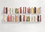 """Étagère pour livre """"U"""" TEEbooks - Lot de 4 - L 60 cm P 15 cm H 15 cm - ..."""