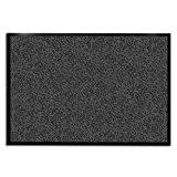 etm® Dirt Trapper Tapis de ciel | 15Tailles Disponibles | Anthracite/moucheté, Plastique, gris, 90 x 120 cm