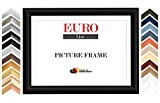 EUROLine50 cadre photo sur mesure pour des photos 27 cm x 15 cm, couleur: Érable, fabrication sur mesure du cadre ...