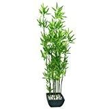 Europalms 61330 Plante de Décoration Bambou dans Bol Vert 120 cm