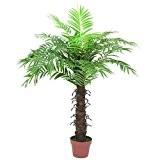 Europalms 61346 Plante de Décoration Cocotier avec 15 Feuilles Vert 120 cm