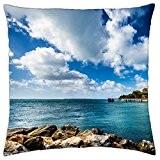 Fantastique Paysage marin–Housse étui couverture Taie d'oreiller (18