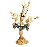 Figurine Disney Tradition - La belle et la bête - Lumière à suspendre