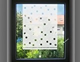 Film pour vitrage no.UL474 Pointed Roller Blind, Farbe:Romantic Rose;Größe:190cm x 122cm