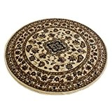 Flair Rugs Sincerity Sherborne Tapis rond, beige, 180cm