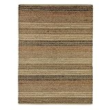 Flair Rugs Tapis Living jonc de mer naturel tissé Texture Chemin de table, naturel, 60 x 230 cm