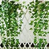 Fleurs Artificielles Simulation Plante Grimpante sur Mur Plantes pour la Décoration de Jardin / Maison la Fête de Noël Anniversaire ...