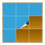 FoLIESEN Carrelage Adhésif pour cuisine et salle de bain Bleu clair–Mat–20x 20cm–Lot de 10