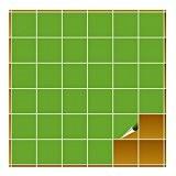 FoLIESEN Carrelage Adhésif pour cuisine et salle de bains–10x 10cm–Vert citron brillant–400pièces