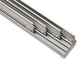 Gardinia Rail pour panneau japonais 4voies en aluminium 225cm