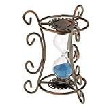 Gazechimp Sablier Vintage Sandglass en Bronze Cadeau Décor Ornement Maison Bureau