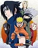 "GB eye 40 x 50 cm ""nuages Naruto Mini Posters, multicolore"