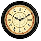 GBBD Horloge murale, horloge murale de salon, horloge murale de café, taille: 14inch, 16inch ( couleur : F1 , taille ...