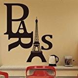 GEEDIAR Stickers Muraux Tour Eiffel Décoration S Autocollant Decoration Murale Stikers