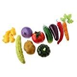 Generic Lot Légumes Artificiels Jouet Enfant Jeux d'Imitation Décoration de la Maison Magasin Photographie