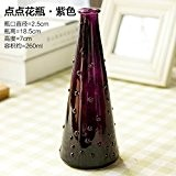 GHOME IDEAS En Verre Teinté Bleu Creative Minimaliste Vase