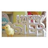Gisela Graham Plaque de décoration de Pâques «Happy Easter»