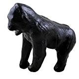 Gorille noir artisanal Statue Sculpture de Figurine animaux sauvages Déco maison