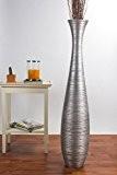 Grand Vase Décoratif 112 cm, Bois du manguier, Argentin