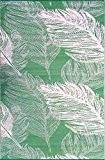 """Green Decore 150 x 240 cm """"Leaves"""" Tapis d'Intérieur et d'Extérieur Réversible en Plastique Recyclé, Indoor / Outdoor Tapis Écologique ..."""