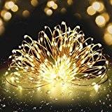 Guirlande Lumineuse à LED Fivanus 300 Leds Lumineux Cuivre Fil 30 Mètres Corde Etoile Lumineuse Chaîne Lumière Décoration Chambre Extérieur ...