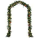 Guirlande lumineuse - Imitation sapin - 80 LED - 5m - Décoration Noel