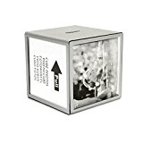 HAB & GUT (FRBOX001) Cadres & Tirelire *CUBE*, Dimensions: environ 9,5 x 9,5 x 9,5 cm