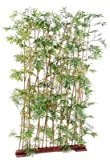Haie artificielle bambou oriental 185cm