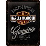 Harley Davidson Genuine signe d'acier (na 2015)