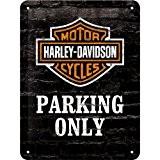 Harley Davidson Parking Only signe d'acier (na 2015)