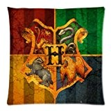 Harry Potter Hogwarts School Sign Gryffindor Ravenclaw Hufflepuff Slytherin Custom Pillowcase Pillow Sham Throw Pillow Cushion Case Cover Two Sides ...