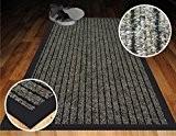 Haute Qualité Beige nervuré Tapis de petit tapis de grande taille commerciale très résistant en PVC arrière en caoutchouc Barrière ...