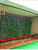 Haute qualité polyester bambou Plantes Fleurs artificielles(1PC)