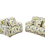 Hengfey Housse de Canapé Super Extensible Sofa Protection Décor 3 Places #5
