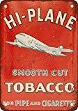 hi-plane Tuyau et cigarette tabac Look Vintage Reproduction Plaque en métal 20,3x 30,5cm 2