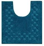 Homescapes Tapis de bain piedestal Turquoise de 45 x 50 cm en 100% coton anti dérapant