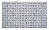 """Homescapes Tapis décoratif Blanc avec comme motif """"Diamond"""" de 120 x 180 cm en 100% Coton"""