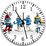 Horloge murale Schtroumpfs 25,4cm joli cadeau et de Chambre Décoration murale 192