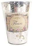 Ian Snow Vase de style lustre rétro Argenté