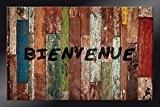 ID Mat 4060 Decoreel Planches Tapis Paillasson Fibre Polyamide/PVC Multicolore 60 x 40 x 0,67 cm
