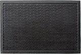 ID Mat 4060 Picots Grat' Tapis Paillasson Caoutchouc Noir 60 x 40 x 0,6 cm