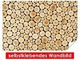 Image murale auto-adhésif Wood Stump–Facile à coller–Wall Poster Print, Wall Paper,, film vinyle avec point décoratif pour murs, portes, meubles ...